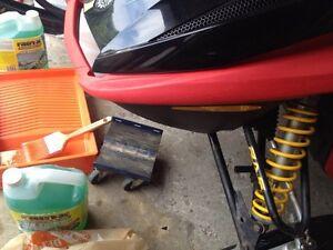 Ski doo red bumper for rev