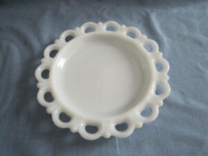 1930's MILK GLASS serving dishes