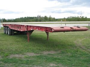 1997 ASPEN 48 FT OILFIELD FLOAT TRAILER