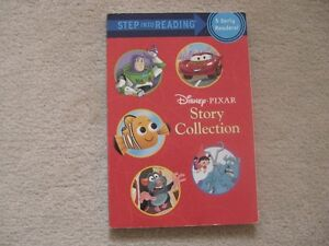 Step Into Reading Book (5 Stories In One Book) And Cars Colourin