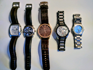 5 Beautiful Quartz Watches $50 each / $200 for lot