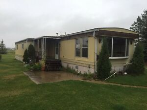 Older mobile home to be moved