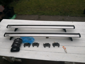 Thule Roof Bar and Footpack