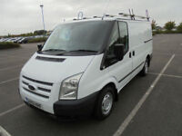 2012 12 FORD TRANSIT TREND 2.2TDCi 100PS 280 SWB LOW ROOF PANEL VAN IN WHITE
