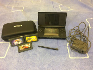 Nintendo DS with Case, Charger and extra Sylus