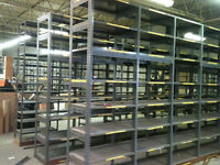 SHELVING, RACKING, MEZZANINES, CANTILEVER, FENCING