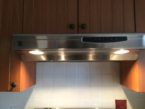 Range Hood Fan - stainless steel
