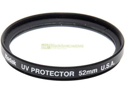 52mm. filtro UV Protector Kodak. Ultra Violet Filter.