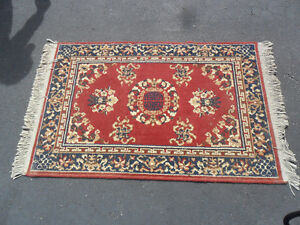 "Persian Style Small Area Rug 52 "" x 32"""