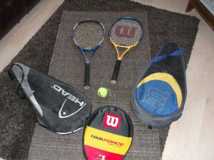 Raquettes de tennis et accessoires