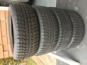 4 Snow Tires Michelin X Ice 215/55/16
