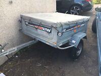 Erde 132 tipping trailer