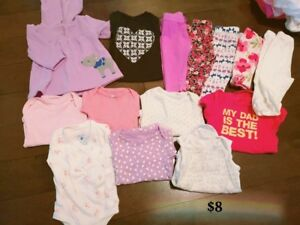 EUC Girl Clothing up to 6M - Lot 1 (price see picture)