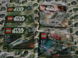 LEGO Polybags 3 for $20 Brand New Star Wars Super Heroes Ninjago