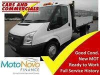 2014 14 FORD TRANSIT TIPPER 350 MWB 1-WAY 125PS (1-STOP BODY) DIESEL