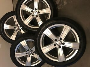 Winter tires for Mercedes S class-Condidtion As new London Ontario image 1