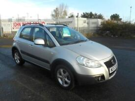 SUZUKI SX4 GLX GRIP 5 DOOR MANUAL PETROL 57 PLATE 69000 MILES
