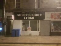 Shop to let 244 high street Kirkcaldy hairdresser beauty tattoo studio wedding or anything else