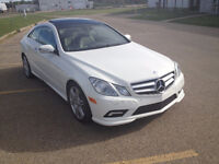 For Sale; 2010 Mercedes-Benz E-350 AMG 2 door Coupe