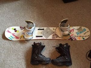 Men's snowboard package