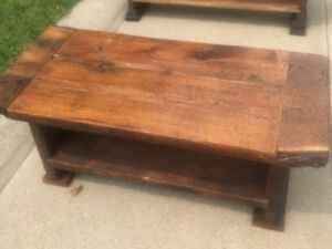 Bench/coffee table  hand made