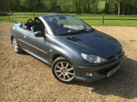 2006 Peugeot 206 CC SORRY NOW SOLD BUT PLEASE ASK AS WE MAY HAVE ANOTHER
