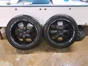 """22"""" GM/CHEVY rims and tires Kitchener / Waterloo Kitchener Area image 5"""