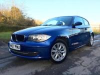 BMW 118 2.0 i ES 2007 Blue Petrol Manual Hatchback 3 Door