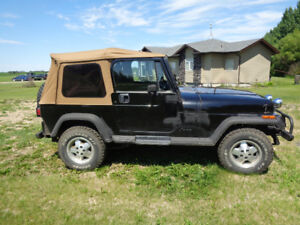 1994 Jeep Wrangler YJ 6 Cylinder Standard Will trade for classic