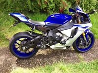 Yamaha R1 two brothers exhaust system 2015 to 2017