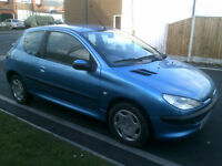 Peugeot 206 1.1 2001MY Look no mot