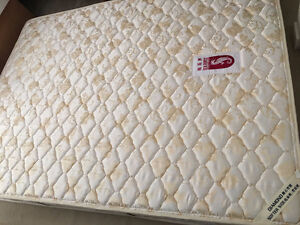 New Sea Horse Queen Size Mattress with Box Spring - $680