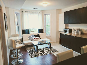 Upscale 3 Bedroom Downtown Ottawa Fully Furnished All Inclusive