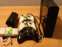 X-Box 360 Slim Edition with 2 controllers