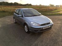 FORD FOCUS 1.6 LX•VERY LOW MILES!!•SERVICE HISTORY• (Astra golf polo Clio Corsa ka punto)