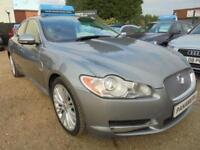 2010 10 JAGUAR XF 3.0 V6 PREMIUM LUXURY 4DR AUTOMATIC 240 BHP DIESEL SAT NAV FIN