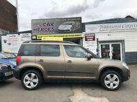 2010 SKODA YETI 2.0 TDI CR 110 SE SPORTS UTILITY SUV ( AA ) WARRANTY INCLUDED