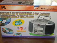 télé portable CDTV-2A  NEUF