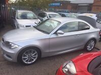 BMW 123d twin turbo 2008 coupe low miles