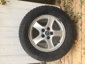 """Winter Tires 16"""" and Mags 114.3x5"""
