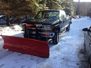 1989 Chevrolet Silverado 3500 Pickup southern Truck with plow