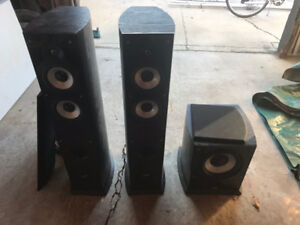 Soundstage Towers and Subwoofer