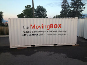 Portable Containers - Affordable Packages from the Moving Box