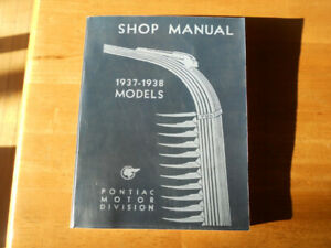 1937-1938 Pontiac shop manual