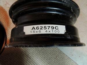 4 New rims 15 x 6 4 x 100 A62579C $60.00