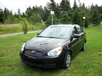 look 2010 Hyundai Accent black Sedan std ,$3700.00 inspected