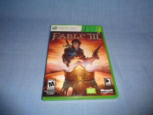 Fable 3 (Fable III) for Xbox360 free delivery $ 9.0 mint conditi