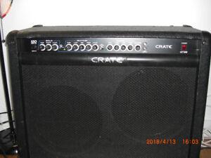 Crate 120 watt Rms Speaker 2x12 pouce