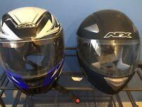 2 casques Moto