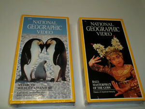 Two National Geographic Videos(VHS)